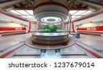 3d cg rendering of space station | Shutterstock . vector #1237679014