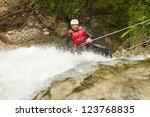 Adult Man Wearing Waterproof...