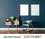 3d beautiful interior render | Shutterstock . vector #1237703887