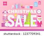 modern flat design concept of... | Shutterstock .eps vector #1237709341