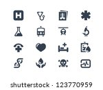medical icons | Shutterstock .eps vector #123770959