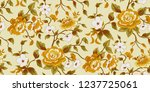 seamless floral pattern in... | Shutterstock .eps vector #1237725061