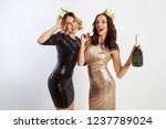 close up studio image of two... | Shutterstock . vector #1237789024