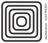 set of twisted square vector...   Shutterstock .eps vector #1237795357