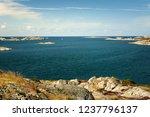sea landscape of a rocky...   Shutterstock . vector #1237796137