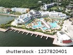 vacation in a luxury hotel.... | Shutterstock . vector #1237820401