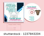 sacred display layouts design... | Shutterstock .eps vector #1237843204