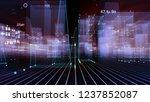 3d rendering abstract... | Shutterstock . vector #1237852087