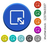 resize object round color... | Shutterstock .eps vector #1237863337
