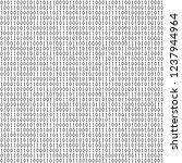 binary code seamless pattern.... | Shutterstock .eps vector #1237944964