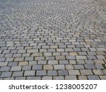 cobbled footpath on old roads   Shutterstock . vector #1238005207