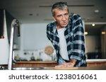 senior man having back pain | Shutterstock . vector #1238016061