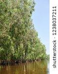 waterway in tra su capujut... | Shutterstock . vector #1238037211