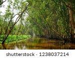 waterway in tra su capujut... | Shutterstock . vector #1238037214