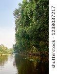 waterway in tra su capujut... | Shutterstock . vector #1238037217