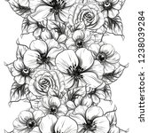 abstract elegance seamless... | Shutterstock .eps vector #1238039284