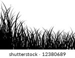Vector Illustration Grass...