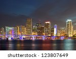 Miami Florida  Downtown...