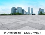 road ground and urban skyline... | Shutterstock . vector #1238079814