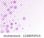 winter snowflakes and circles... | Shutterstock .eps vector #1238093914