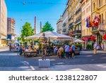 geneva  switzerland  july 20 ... | Shutterstock . vector #1238122807