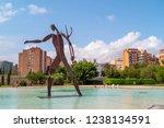 valencia  spain   august 30 ... | Shutterstock . vector #1238134591