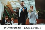 corporate sport lifestyle.... | Shutterstock . vector #1238134837