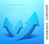 vector illustration of 3d... | Shutterstock .eps vector #123814309