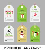 collection of christmas and new ... | Shutterstock .eps vector #1238151097
