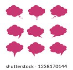 set of different shapes and... | Shutterstock .eps vector #1238170144