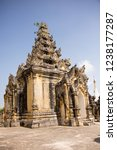 ornate gate at the maha aungmye ...   Shutterstock . vector #1238177287