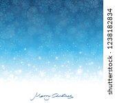 merry christmas greetings on... | Shutterstock .eps vector #1238182834