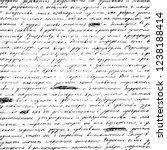 the background of a handwritten ... | Shutterstock .eps vector #1238188414