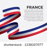 france flag for decorative... | Shutterstock .eps vector #1238207077