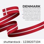 denmark flag for decorative... | Shutterstock .eps vector #1238207104
