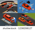 car tuning 2x2 design concept... | Shutterstock .eps vector #1238208127