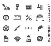 equipment technician repair | Shutterstock . vector #1238213857