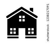 residential house property... | Shutterstock .eps vector #1238217091