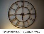 nice wall clock   Shutterstock . vector #1238247967