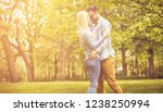 falling deeper in love every... | Shutterstock . vector #1238250994