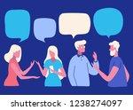vector illustration  social... | Shutterstock .eps vector #1238274097