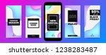 social media frames templates.... | Shutterstock .eps vector #1238283487
