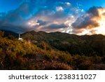 troodos mountainscape with the... | Shutterstock . vector #1238311027