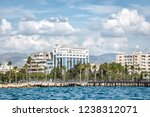 scenic view of the limassol... | Shutterstock . vector #1238312071