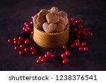 bowl full of homemade...   Shutterstock . vector #1238376541