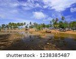 beautiful view of fisherman's... | Shutterstock . vector #1238385487