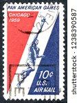 Usa Postage Stamp   Circa 1959  ...