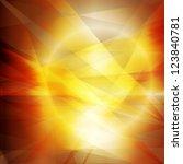 Summer Sun Hot Vector Abstract...