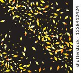 confetti of two colored rhombs... | Shutterstock .eps vector #1238412424
