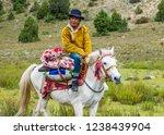 litang county   china   oct... | Shutterstock . vector #1238439904